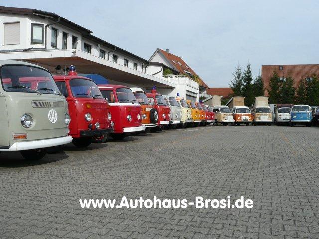 VW T2 (alle) T2 Kastenwagen Oldtimer-Kennzeichen TÜ
